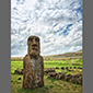 image of Moai on Easter Island/ Rapa Nui, Chile