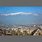Image of Santiago, Chile, and Andes