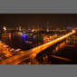 image of downtown Cairo, Egypt at night
