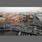 image of downtown Cairo, traffic