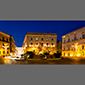 image of Ortigia, Siracusa, Sicily, Italy, at night