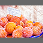 image of candied oranges, Sicily, Italy