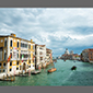 image of view from Accademia Bridge, Venice, Italy
